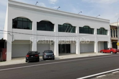 2 adjoining commercial shop penang